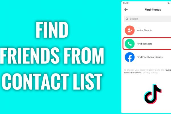 How to find friends from your contact list on TikTok