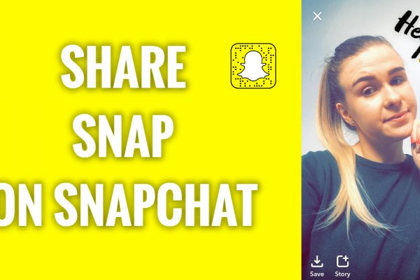 How to share a snap on Snapchat