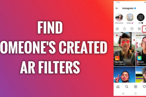 How to find someone's created AR filters on Instagram
