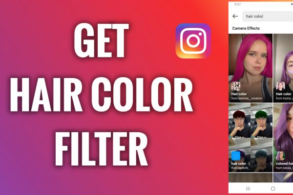 How to get a hair color filter on Instagram