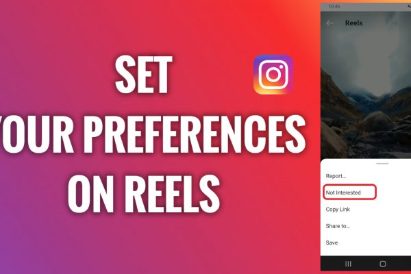 How to set your preferences on Instagram Reels
