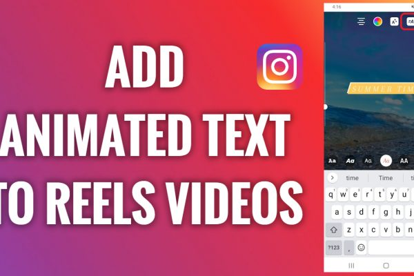 How to add animated text to Instagram Reels videos
