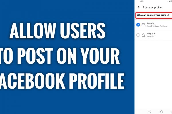 How to allow users to post on your profile on Facebook App