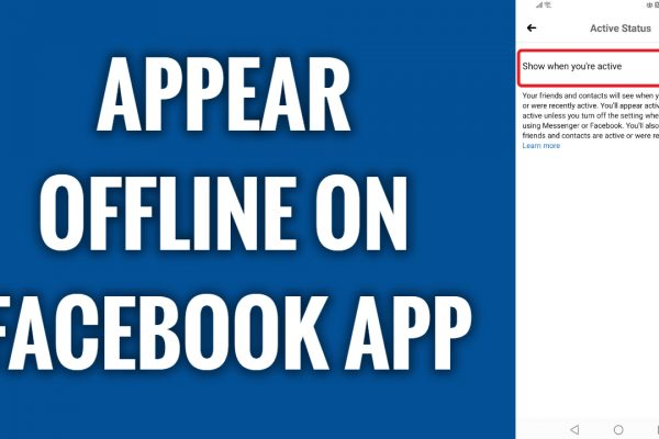 How to appear offline on Facebook app in 2021
