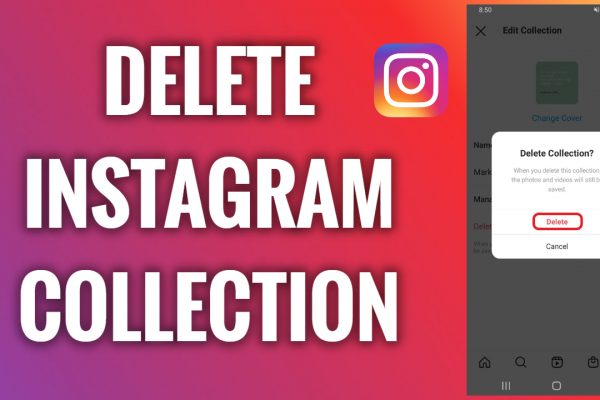 How to delete an Instagram collection