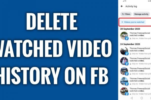 How to delete your Facebook watched video history in 2021