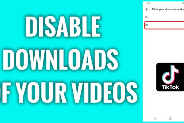 How to disable downloads of your videos on TikTok
