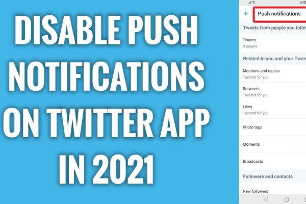 How to disable push notifications on Twitter app in 2021