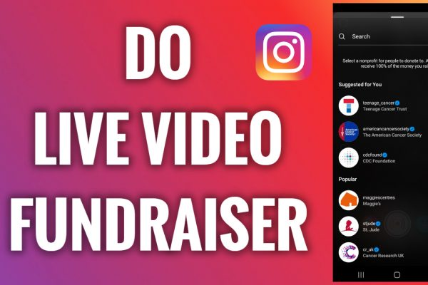 How to do a Live video fundraiser on Instagram