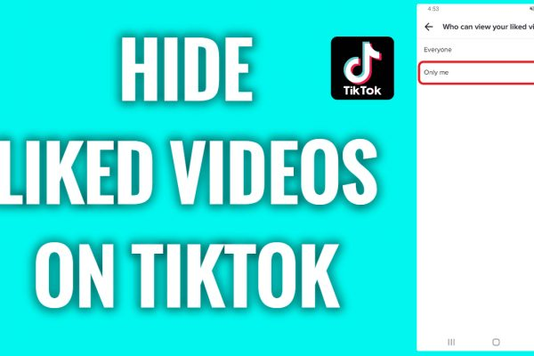 How to hide liked videos on TikTok