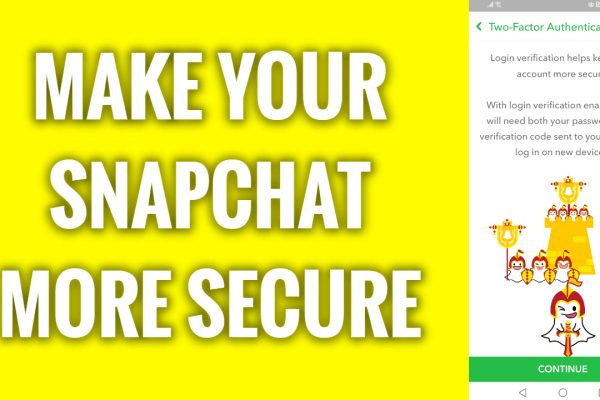 How to make your Snapchat profile more secure