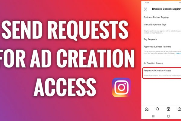 How to send requests for ad creation access on Instagram
