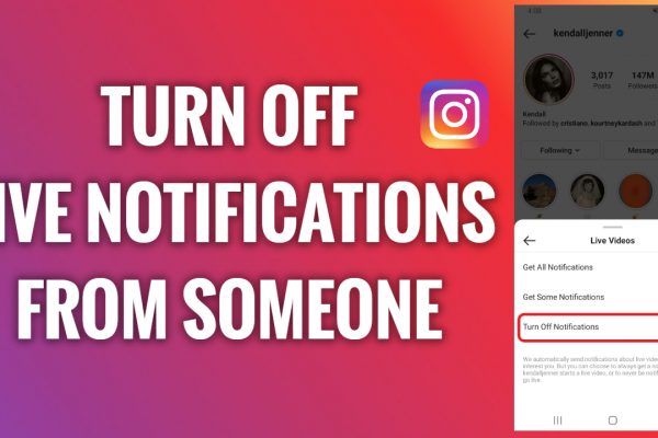 How to turn off Instagram Live notifications from someone you follow