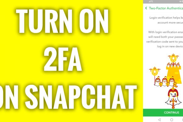 How to turn on 2FA on Snapchat
