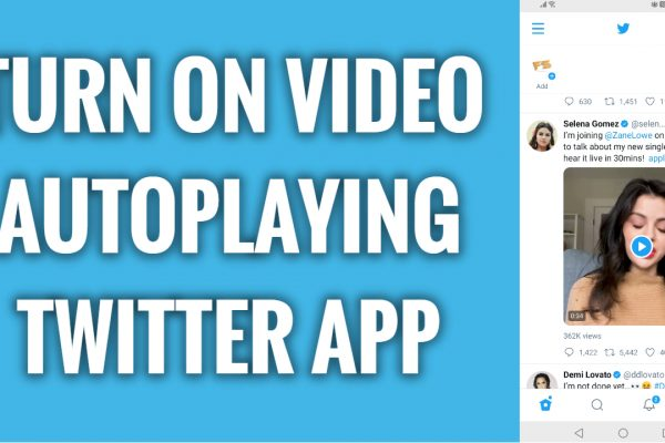 How to turn on video autoplaying on Twitter app