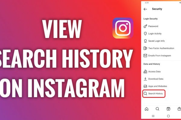 How to view your search history on Instagram
